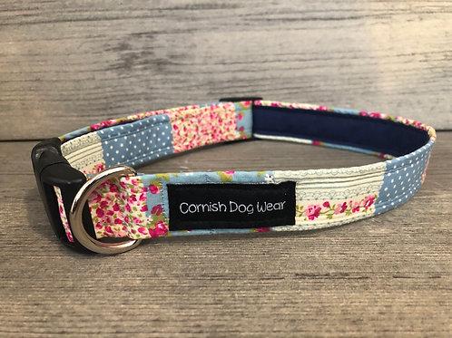 Patchwork Dog Collar