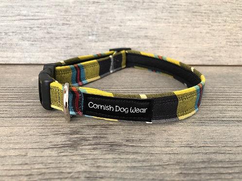 Cornish Tartan Dog Collar