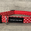 Thumbnail: Red and White Spot dog collar