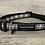 Thumbnail: Black and White Tartan Dog Collar
