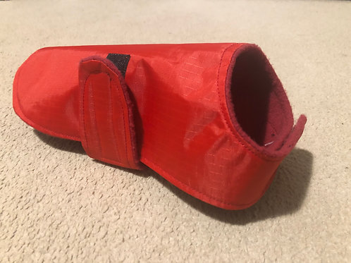 Plain Red Waterproof dog coat