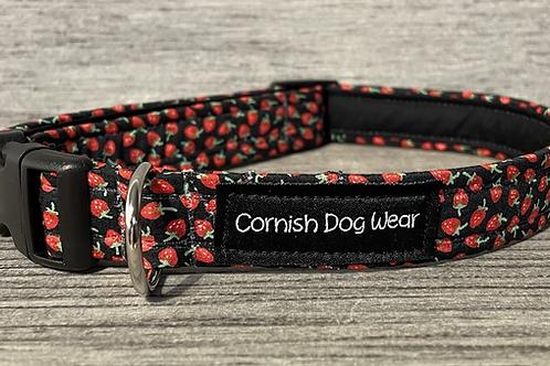 Mini Strawberry's dog collar