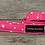 Thumbnail: Pink Stars dog collar
