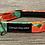 Thumbnail: Large Poppies dog collar
