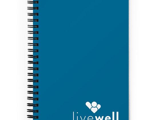 Spiral Notebook (blue)