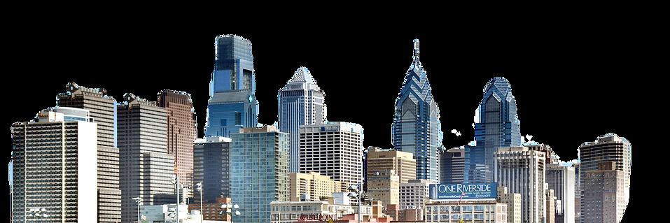Philadelphia_skyline_from_the_southwest_