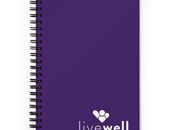 Spiral Notebook (purple)