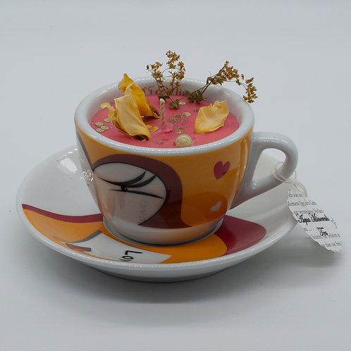 "Books 'n Tea Candle ""Mad Teaparty"""