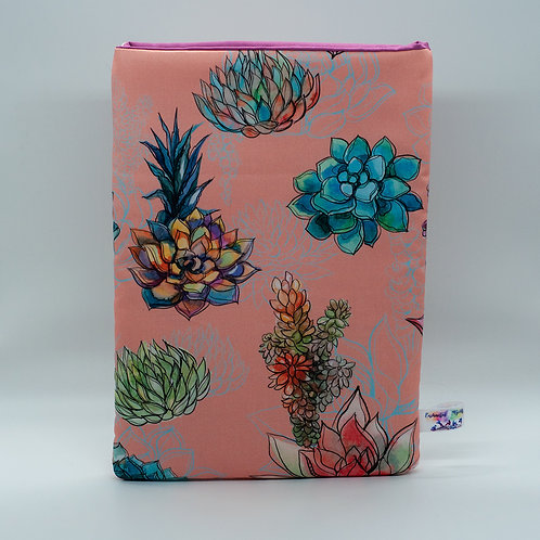 "Booksleeve ""Succulent"""