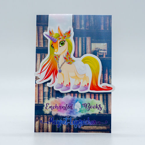 """Magnetlesezeichen """"Unicorn Cleo"""""""