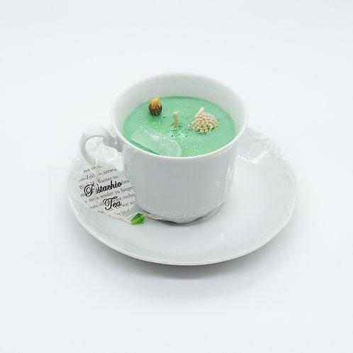 """Books 'n Tea Candle """"Green"""""""