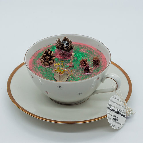 """Books 'n Tea Candle """"Magical Forest"""""""