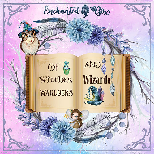 """Enchanted Box """"Of Witches, Warlocks and Wizards"""" - mit Buch möglich"""