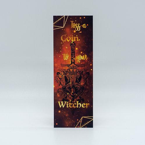 """Lesezeichen """"Witcher"""""""