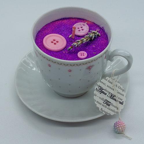 """Books 'n Tea Candle """"Cute Button"""""""