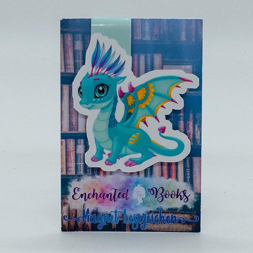 """Magnetlesezeichen """"Book Dragon Skye"""""""