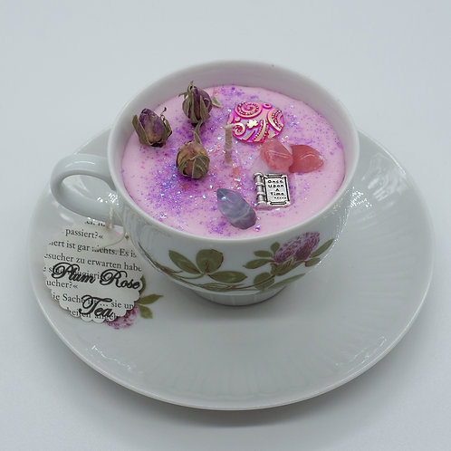"Books 'n Tea Candle ""Once Upon a Time"""