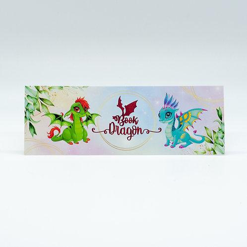 """Lesezeichen """"Book Dragons"""""""