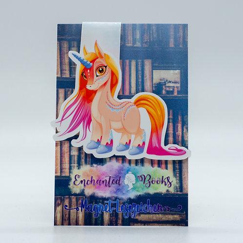 "Magnetlesezeichen ""Unicorn Zahira"""