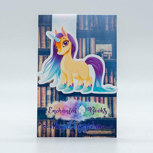 "Magnetlesezeichen ""Unicorn Saila"""