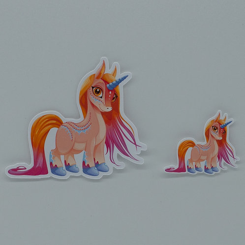 "Sticker ""Unicorn Zahira"""
