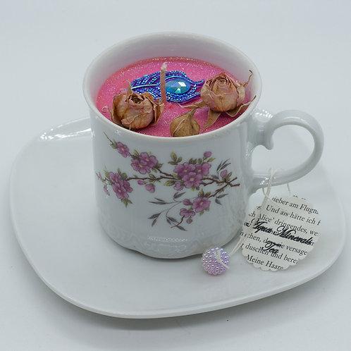 "Books 'n Tea Candle ""Mad Hatter's Tea Time"""