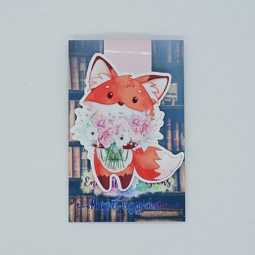 """Magnetlesezeichen """"Summer Fox - Fridolin"""""""
