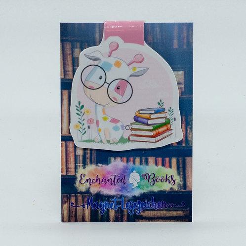 """Magnetlesezeichen """"Book Nerd"""""""