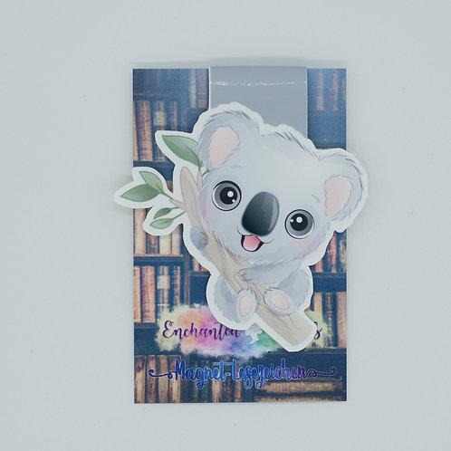 """Magnetlesezeichen """"Koala Arthur"""""""