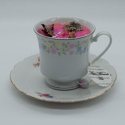 "Books 'n Tea Candle ""Reading with a good Tea"""