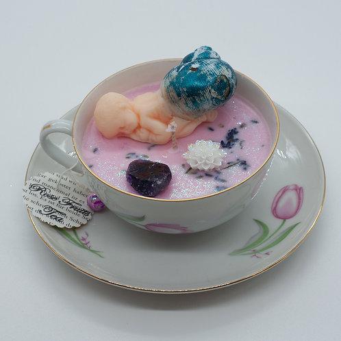"Books 'n Tea Candle ""Fairy Baby"""