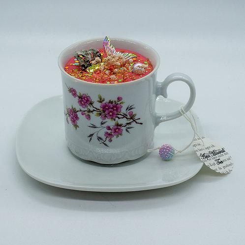 """Books 'n Tea Candle """"Mermaids in Wonderland"""""""