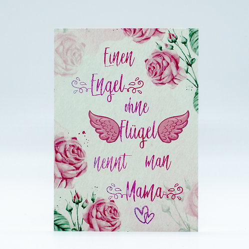 "Postkarte ""Mamaliebe"""