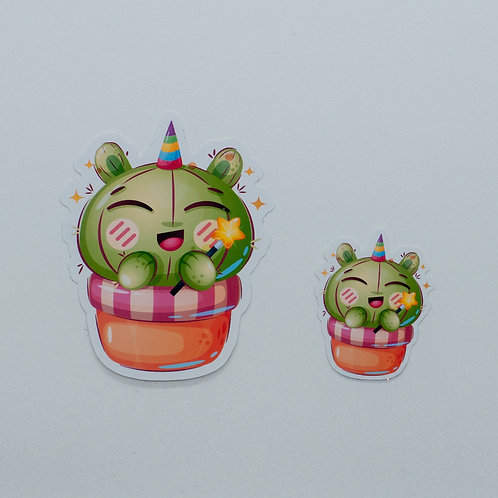 """Sticker """"Magic Cactus"""""""