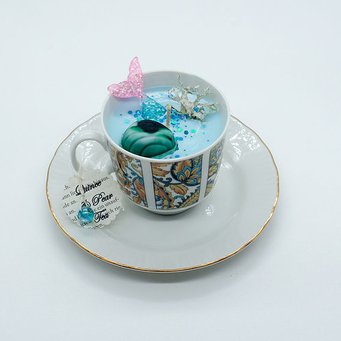 "Books 'n Tea Candle ""Siren"""