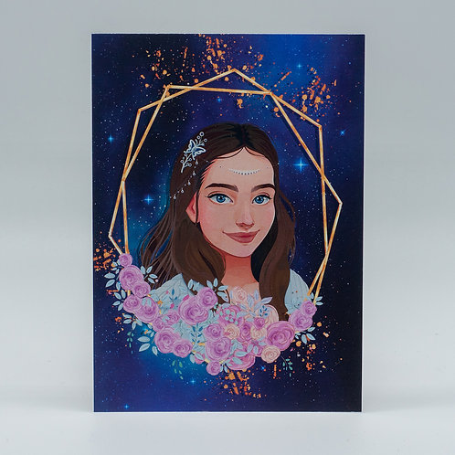 "Postkarte ""Feyre Archeron"""