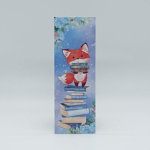 """Lesezeichen """"Bookish Fox"""""""