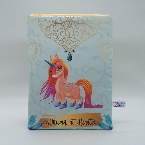 "Booksleeve ""Unicorn at Heart"""