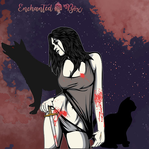 "Enchanted Box ""Nevernight"""