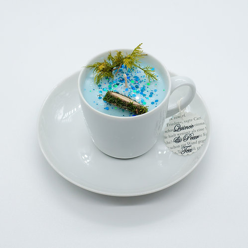 "Books 'n Tea Candle ""Underwater"""