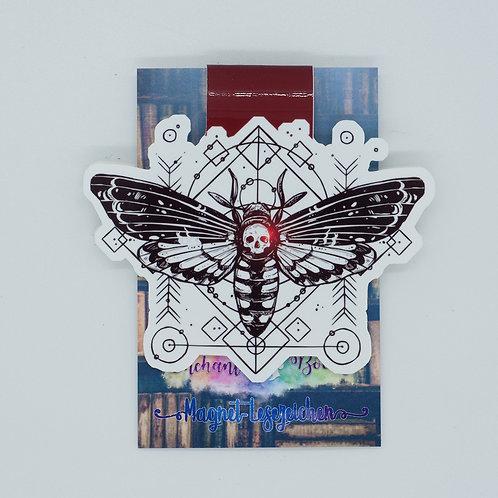 """Magnetlesezeichen """"Magic Moth"""""""