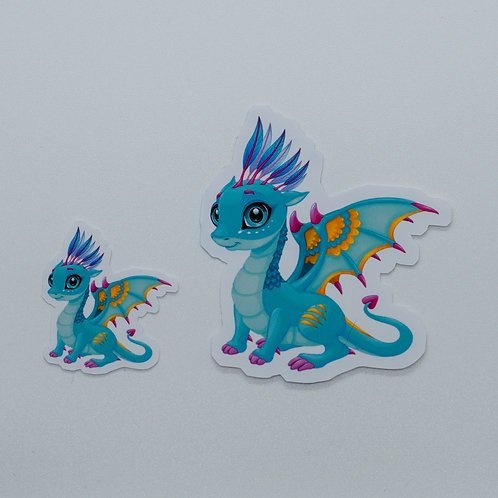 "Sticker ""Book Dragon Skye"""