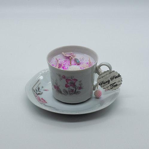 "Books 'n Tea Candle ""Fairy Meadow"""