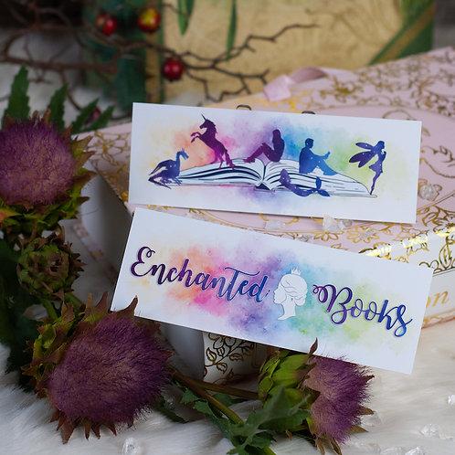 "Lesezeichen ""Enchanted Books"""