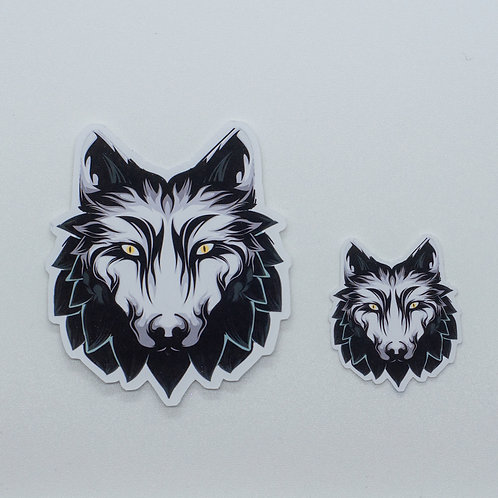 "Sticker ""White Wolf"""