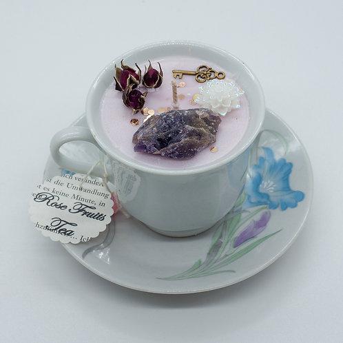 "Books 'n Tea Candle ""Pure Love"""