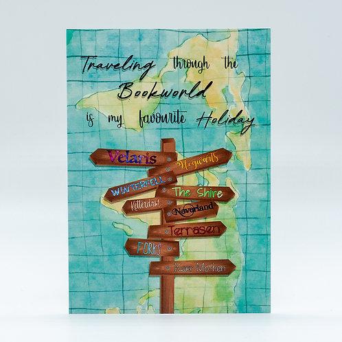 "Postkarte ""Booktraveler"""