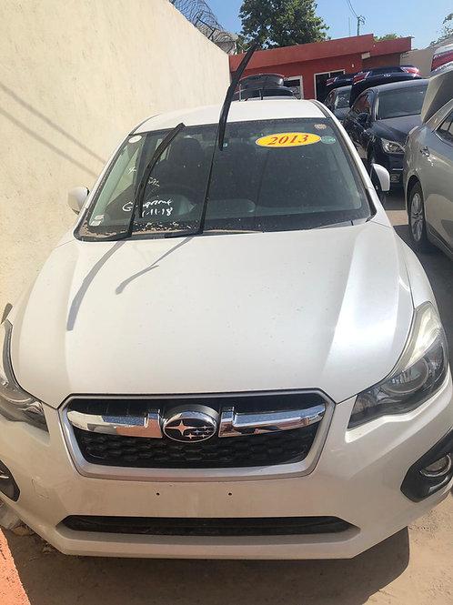 Subaru White G4 2013