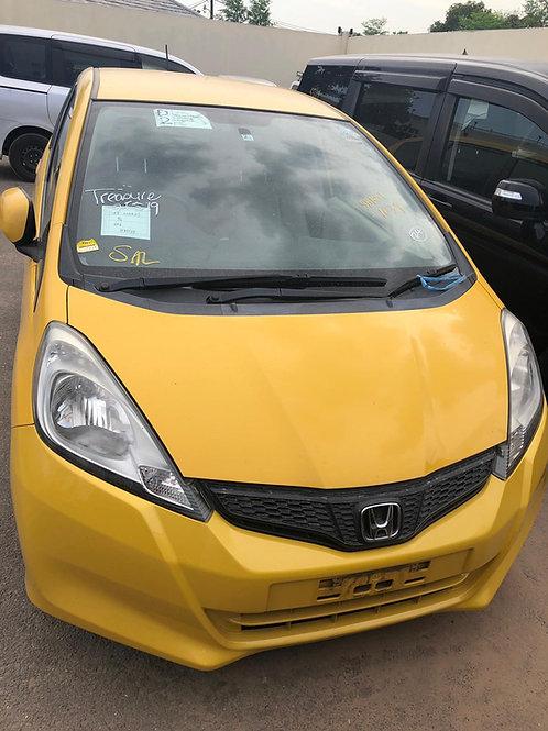 Honda Fit 2012 yellow