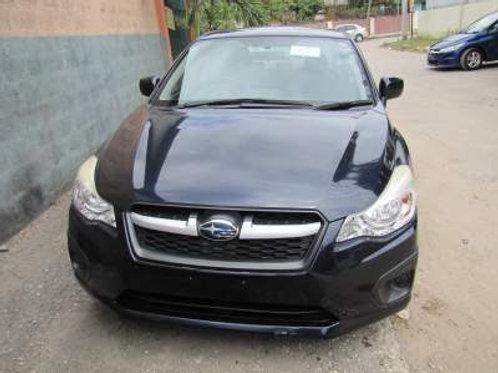 Subaru Black G4 2013